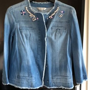 Bianca Nygard Studded Jean jacket